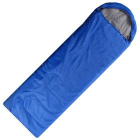 Спальный мешок SM07, 1 х 200 г/м2, полиэстер, 180+30 х 75 см, полиэстер 190Т, 3/20*C