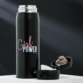 """Термос """"Girl power"""", 500 мл, время сохранения тепла 6 ч - фото 1964563"""