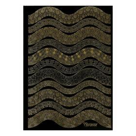 Записная книжка А4 200л сшив Золотые переливы тв обл,мат лам,тисн фольг,ляссе,бл 60г/м2