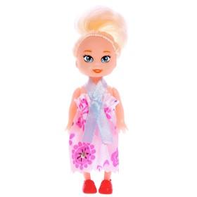 Кукла-малышка, цветные волосы, МИКС