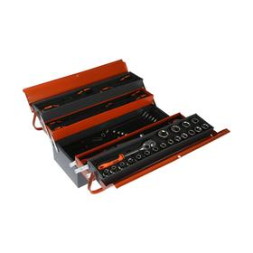 A set of tools HARDEN 510777, in a metal box, 77 items