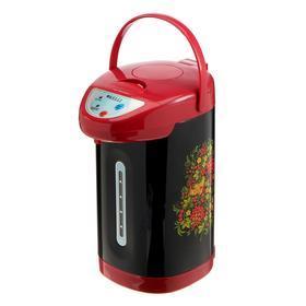 Термопот KELLI KL-1335, 1100 Вт, 4.5 л, поддержание t, чёрно-красный
