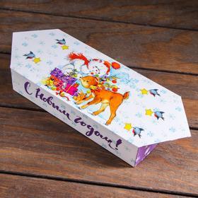 "A cardboard box ""Forest fairy tale"",candy, 10 x 20 x 4.3 cm"