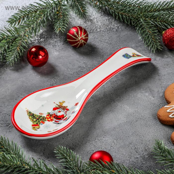 """Stand under the spoon """"At a meeting of the New year,"""" 22,3x7,1x2,7 cm"""