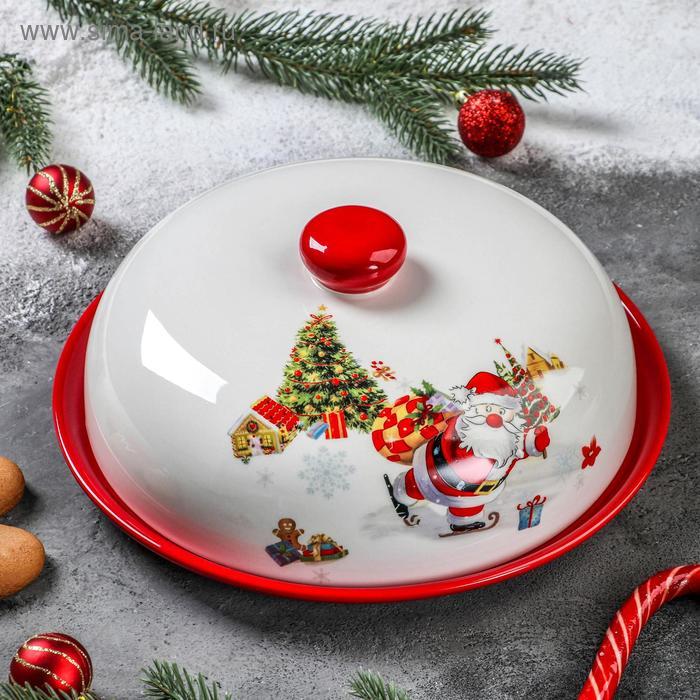 """Blinnitsa """"meet the New year,"""" 23x9. 7 cm"""