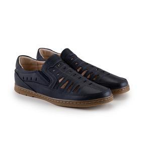 Туфли детские, цвет синий, размер 37