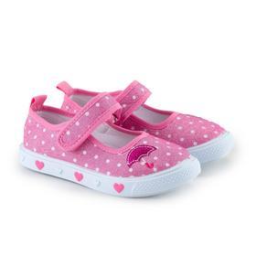 Кеды детские, цвет розовый, размер 31