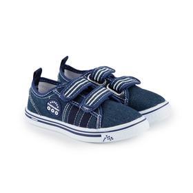 Кеды детские, цвет синий, размер 31