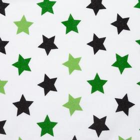 Фланель «Звезды милитари» ширина 150 см, длина 10 м
