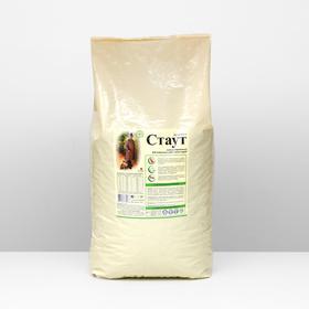 """Сухой корм """"Стаут"""" для взрослых собак всех пород, гипоаллергенный с ягненком и рисом, 15 кг"""