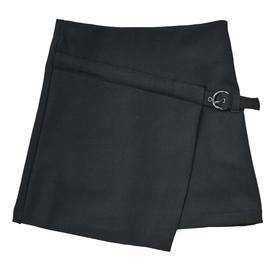 Юбка для девочек, рост 128 см, цвет чёрный