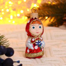 "Christmas tree ornament ""baby Girl"" h-8 cm"