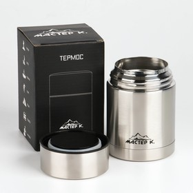 Термос для еды 'Мастер К.' 450 мл, сохраняет тепло 6 ч, 9х13.3 см Ош