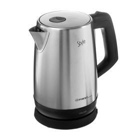 Чайник электрический FIRST FA-5411-2, металл, 1.7 л, 2200 Вт, серебристый