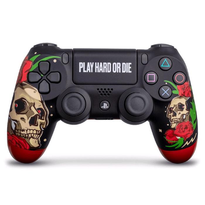 "Беспроводной геймпад для Sony PlayStation 4 DualShock 4 ""Play Hard"""