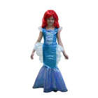 """Детский карнавальный костюм """"Русалочка"""", рост 122 см, цвет изумрудно-голубой"""