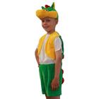 """Карнавальный костюм """"Дракон"""", 3 предмета: жилетка, шорты, маска-шапочка. Рост 122-128 см 89063"""