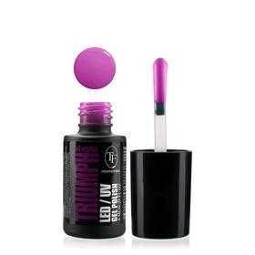 Гель-лак для ногтей LED/UV TF Triumph of Color, тон 544 фиолетово-пурпурный