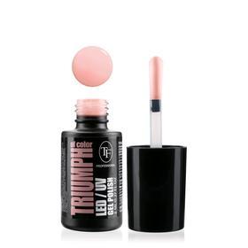 Гель-лак для ногтей LED/UV TF Triumph of Color, тон 507 пастельно-розовый
