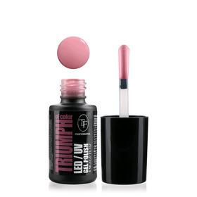 Гель-лак для ногтей LED/UV TF Triumph of Color, тон 539 прянично-розовый
