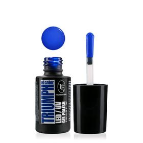 Гель-лак для ногтей LED/UV TF Triumph of Color, тон 555 насыщенный синий