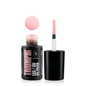 Гель-лак для ногтей LED/UV TF Triumph of Color, тон 506 молочно-розовый