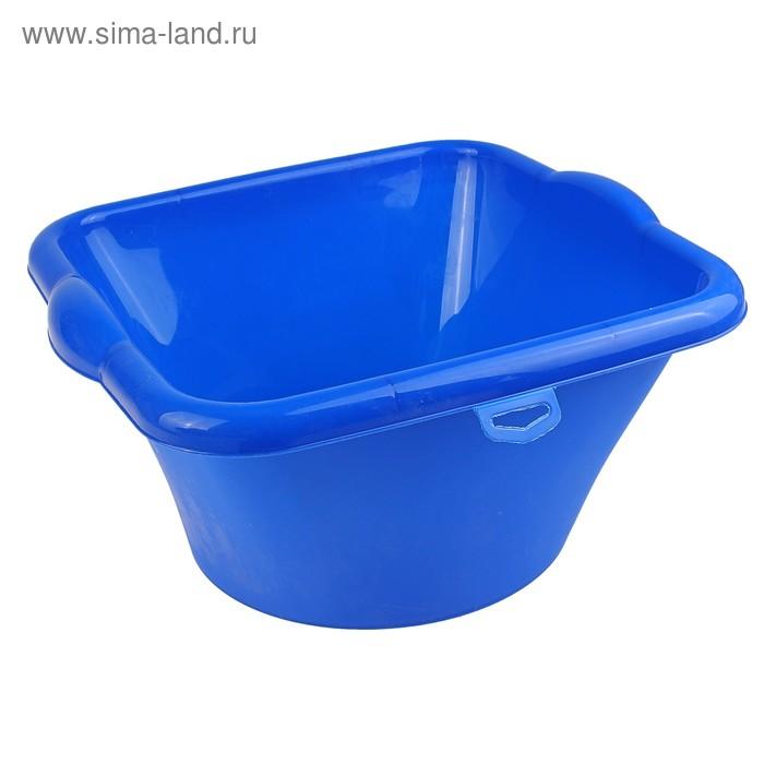 """Таз пластмассовый 9 л """"Квадратный"""", цвет МИКС"""