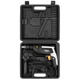 Дрель ударная DEKO DKID600W+ case, 650 Вт, 3000 об/мин, 29000 уд/мин, 25 Hm, 1.5-13 мм, кейс   52595