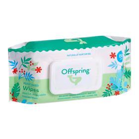 Влажные салфетки Offspring биоразлагаемые, 80 шт.