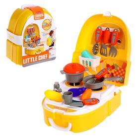 Набор кухни в рюкзаке «Маленький шеф»