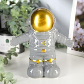 "Копилка керамика ""Астронавт"" 19,5х11,5х18,3 см"
