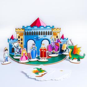 """Кукольный театр """"Рыцарский замок"""" П1008"""
