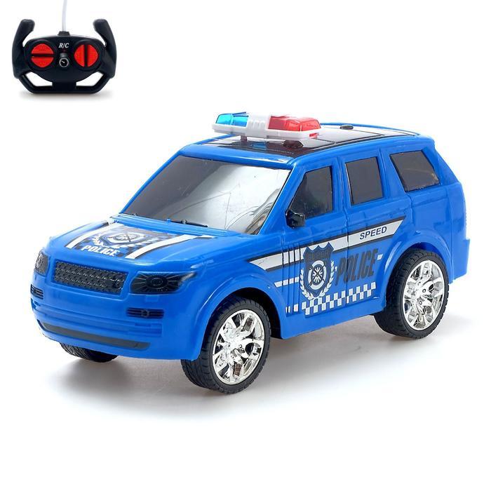 Машина радиоуправляемая «Полиция», масштаб 1:20, работает от батареек, цвета МИКС - фото 76537243
