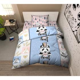 Постельное бельё Твой стиль «Панда» 150х215, 145х215, 70х70 см -1 шт
