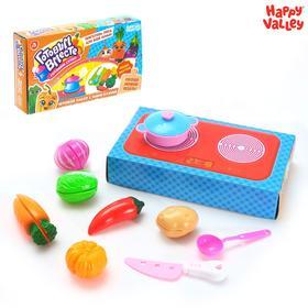 """Happy Valley Игровой набор """"Готовим вместе супы"""", с овощами для нарезки SL-03665"""