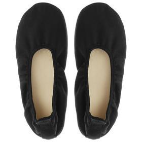 Ballet flats, color black, length of the insole 15.5 cm