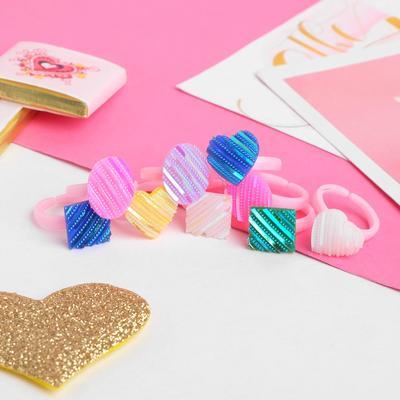 "Ring children's ""Vibracula"" caramel, form MIX, MIX color, dimensionless"