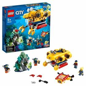 Конструктор Lego City «Океан: исследовательская подводная лодка»