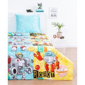 Постельное бельё Василек «Роботы» 145х215, 150х214, 70х70 см