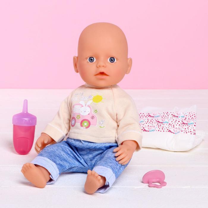 Пупс функциональный «Малыш» пьёт, писает, с аксессуарами
