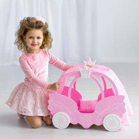 Игрушка детская кровать из коллекции «Shining Crown» цвет розовое облако