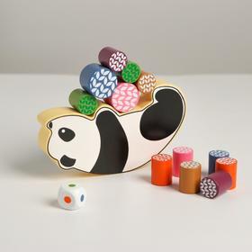 Развивающая игра балансир «Панда» 15×15×2 см
