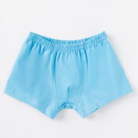 Трусы для мальчика, цвет голубой, рост 116 см