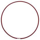 Обруч гимнастический, стальной, d=75 см, 700 г, цвета МИКС