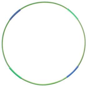 Обруч гимнастический с массажными насадками, стальной, d=90 см, 750 г, цвета МИКС