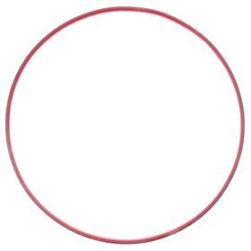 Обруч гимнастический утяжелённый, стальной, d=90 см, 1,1 кг, цвета МИКС