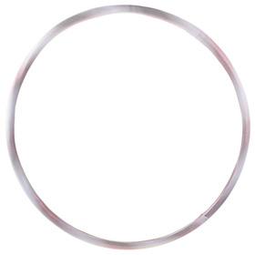 Обруч гимнастический утяжелённый «КОМФОРТ», стальной, d=90 см, толщина 3 см, 1,4 кг, цвета МИКС