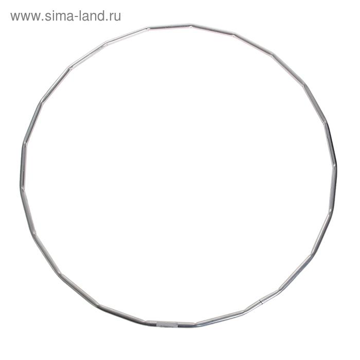 Обруч гимнастический, алюминиевый, d=900 мм, рифлёный, МИКС