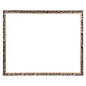Рама для картин (зеркал) 80 х 100 х 4 см, дерево, «Версаль», цвет золотой