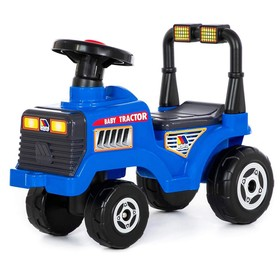 Толокар-трактор «Митя», цвет синий